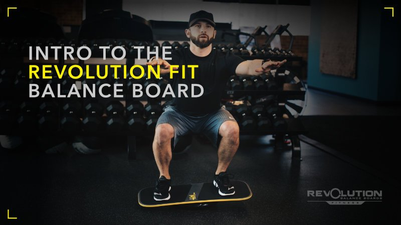 Intro To Balance Board Fitness Training Revolution